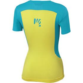Karpos Giralba Maillot Mujer, amarillo/azul